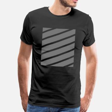 Strip Stripes - Herre premium T-shirt