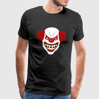 Horror Horror Clown - Mannen Premium T-shirt