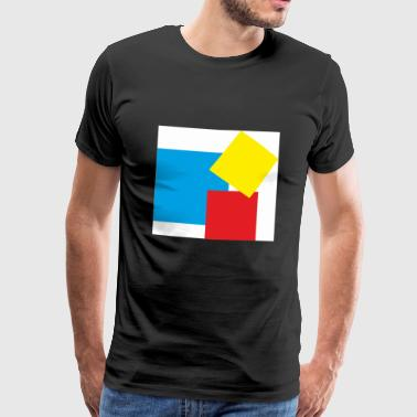 rectangles - T-shirt Premium Homme