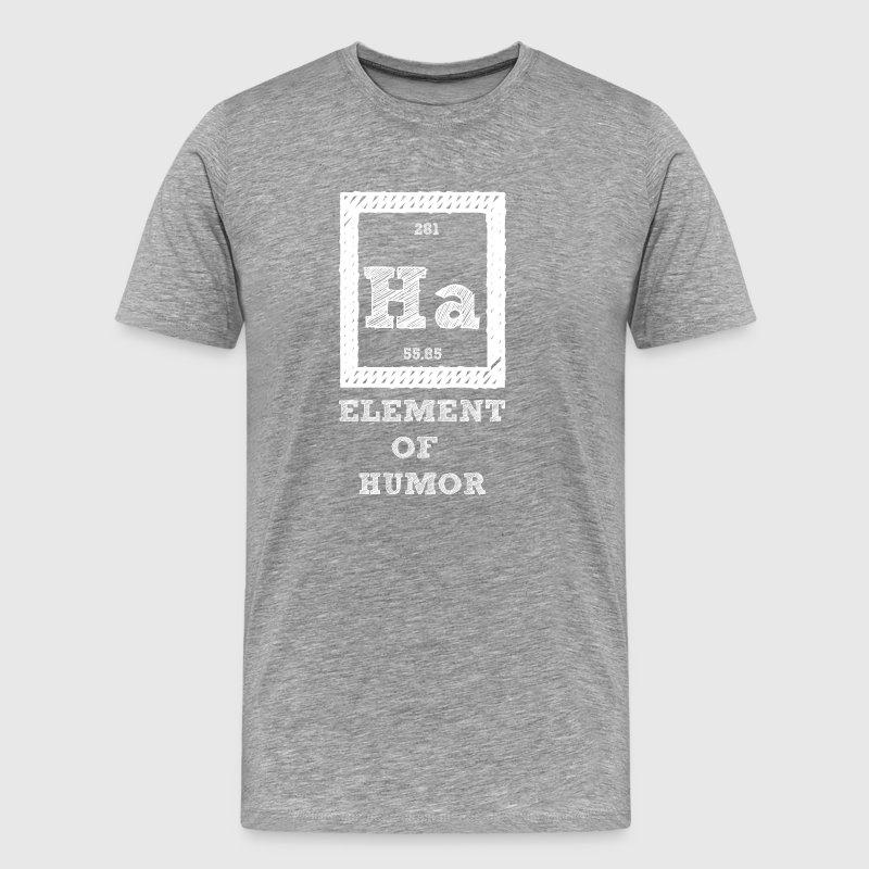 Ha periodic table images periodic table of elements list periodic table ha element of humor by sg design spreadshirt urtaz Choice Image
