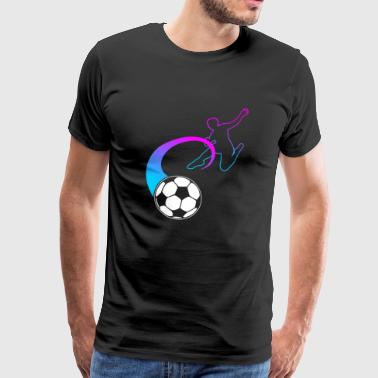 Football Fan Football Fan Footballer Gift - Men's Premium T-Shirt