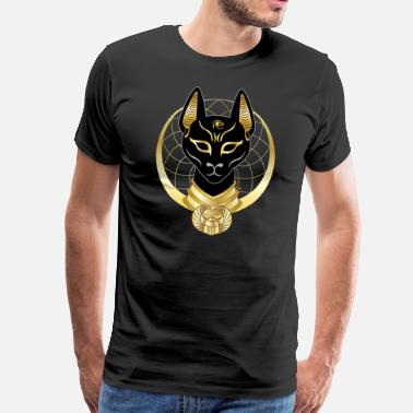 Egyptian Pharaohs Bastet - Men's Premium T-Shirt