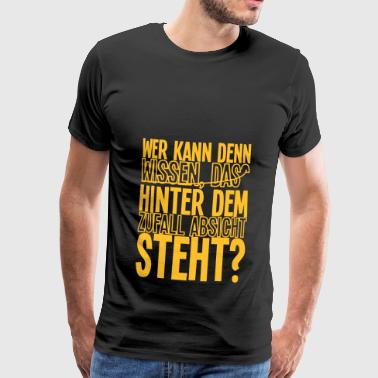 Toeval toeval - Mannen Premium T-shirt