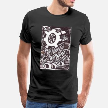 Solitary The Solitary Cog - Men's Premium T-Shirt