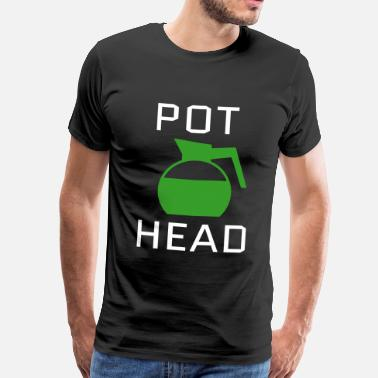 Hackney Sounds Pot Head - Men's Premium T-Shirt