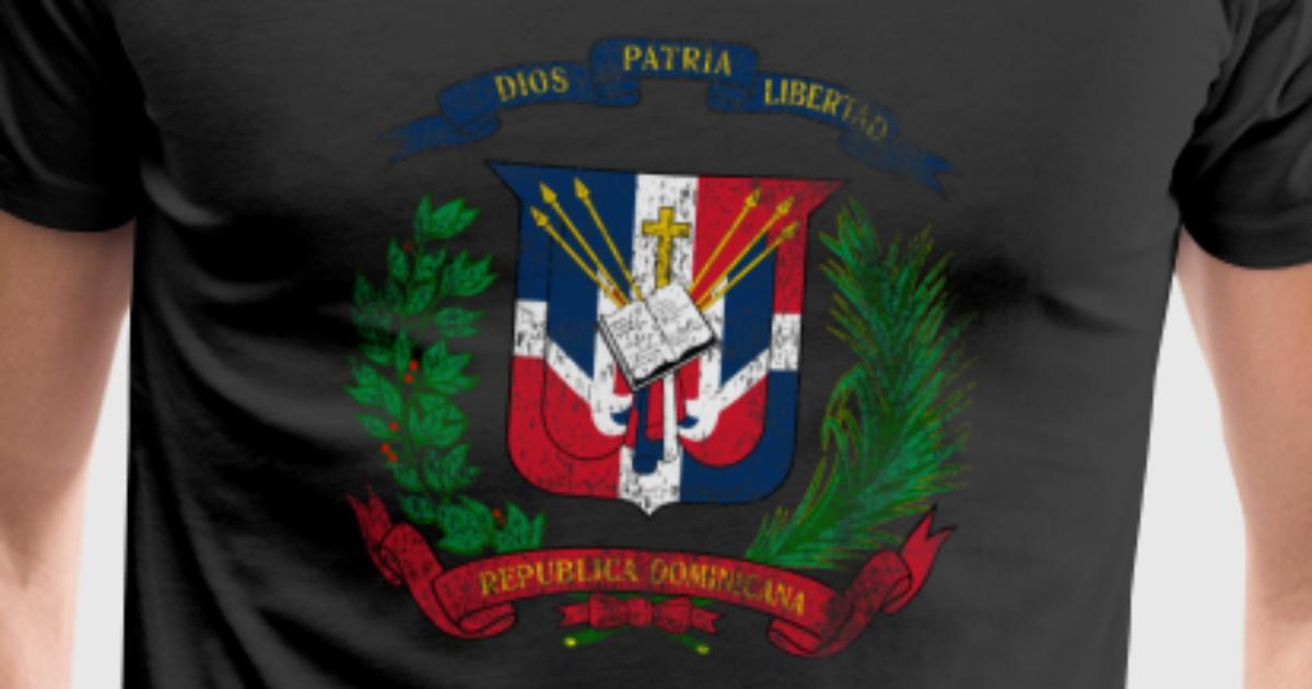 Dominican Coat Of Arms Dominican Republic Symbol By Wiqmerch