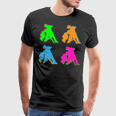 Couple de danse - T-shirt Premium Homme