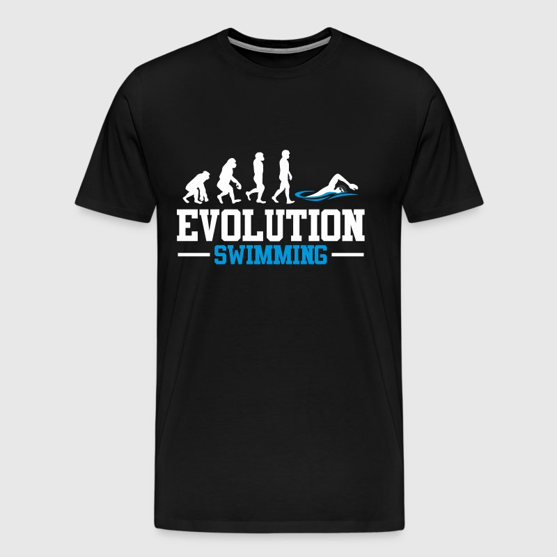 EVOLUTION SWIMMING - Men's Premium T-Shirt