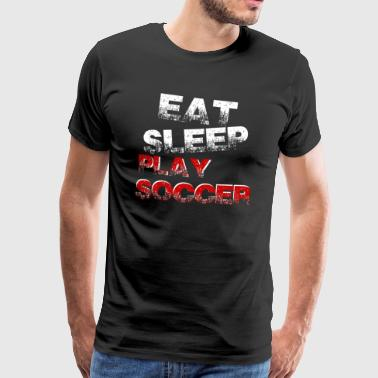 Funny funny saying Football Gift - Men's Premium T-Shirt