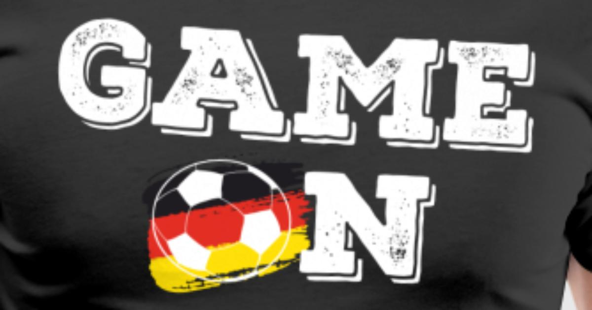 Game On Germany Soccer Fan By Liliystee Spreadshirt