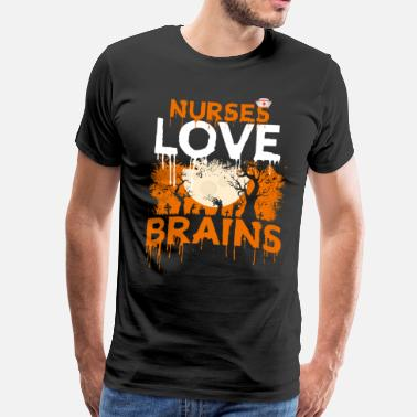 Hospital Staff Nurse halloween costume medicine - Men's Premium T-Shirt