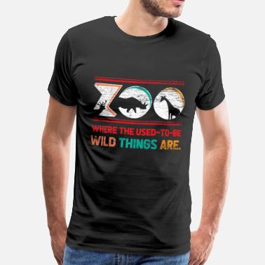 Tier Zoo zoo - Men's Premium T-Shirt