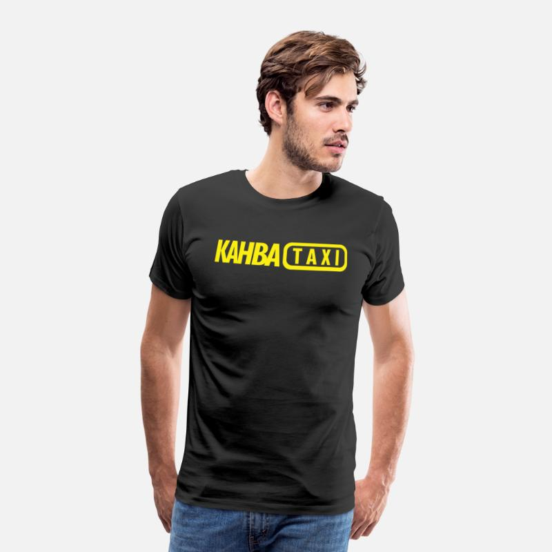 Arabia T-Shirts - kahba TAXI like Fake Taxi - Men's Premium T-Shirt black