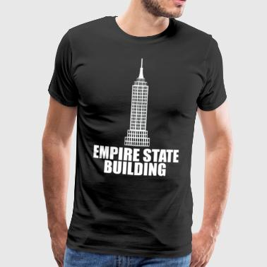 Empire State building - Männer Premium T-Shirt