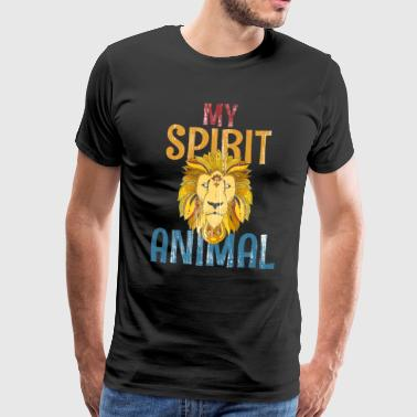 Löwe: My Spirit Animal - Männer Premium T-Shirt