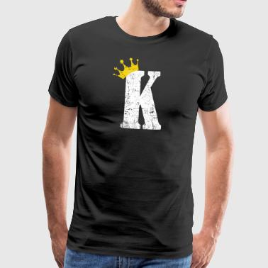 Poker King Kicker Card Kortspill Black Jack - Premium T-skjorte for menn