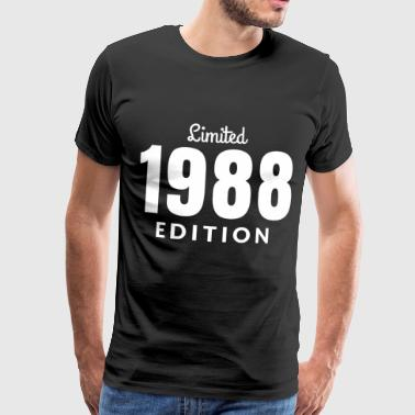 Born In 1988 1988 birthday gift birth year born year - Men's Premium T-Shirt