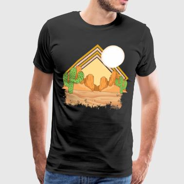 desert - Men's Premium T-Shirt