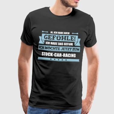 Lustiger Stock-Car-Racing Spruch - Männer Premium T-Shirt