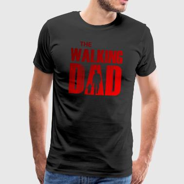 The Walking Dad - Red Edition - Miesten premium t-paita