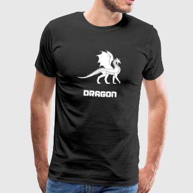 Dragon dragon dragon head - Men's Premium T-Shirt