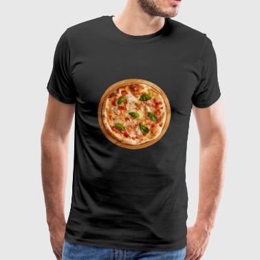 pizza margherita pizzeria food essen - Männer Premium T-Shirt