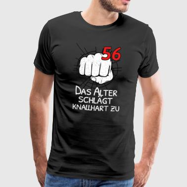 56 THE OLD AGE IS BLOCKING! - Men's Premium T-Shirt