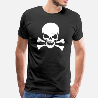 Skull And Crossbones Skull crossbones - Men's Premium T-Shirt