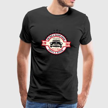 Hot Rod and Kustom Garage - Men's Premium T-Shirt