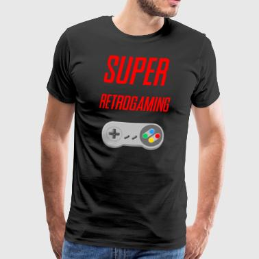 SUPER retrogaming - Mannen Premium T-shirt