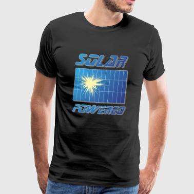 For proud Solar Environmentalists Solar Panel - Men's Premium T-Shirt