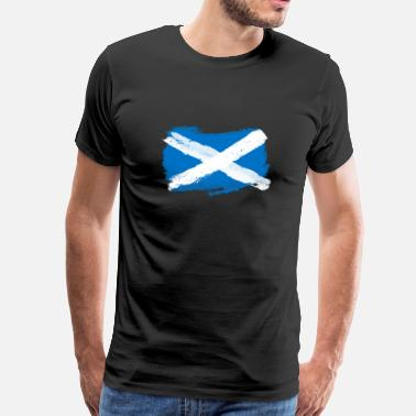 Scottish Scotland souvenir Scottish flag gift - Men's Premium T-Shirt