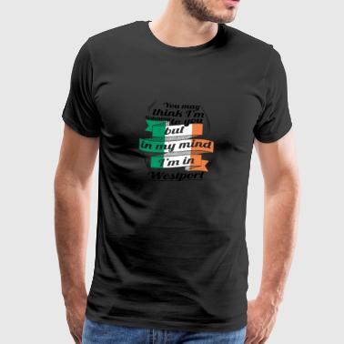 HOLIDAYS Ireland ROOTS TRAVEL IM IN Ireland Westport - Men's Premium T-Shirt