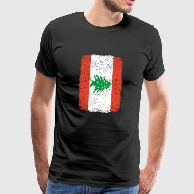 roots home country roots home Lebanon - Men's Premium T-Shirt