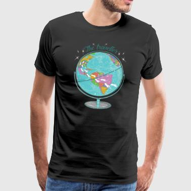 The Traveler - Holiday Design - Travel - Travel - Men's Premium T-Shirt