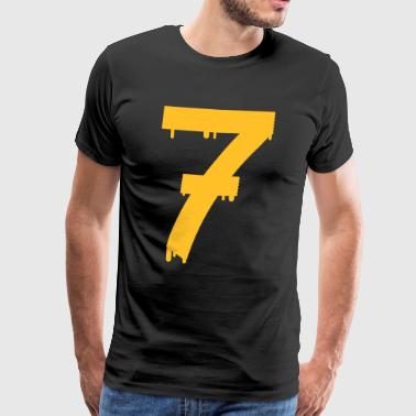 lucky number seven - Men's Premium T-Shirt