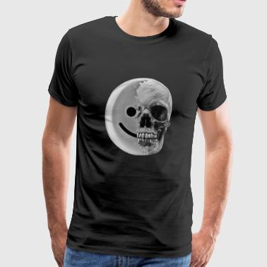smiley kol - Premium-T-shirt herr
