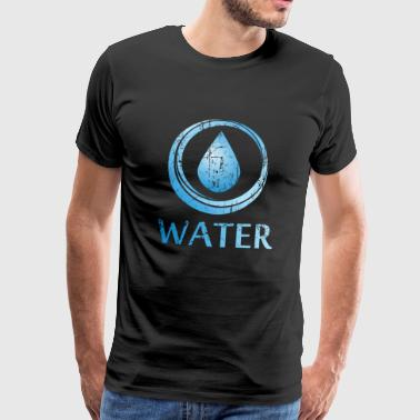 Four elements of water - Men's Premium T-Shirt