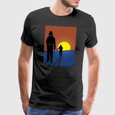 Invader Affair - Mannen Premium T-shirt