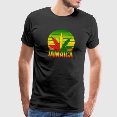 Jamaica red yellow green - Men's Premium T-Shirt