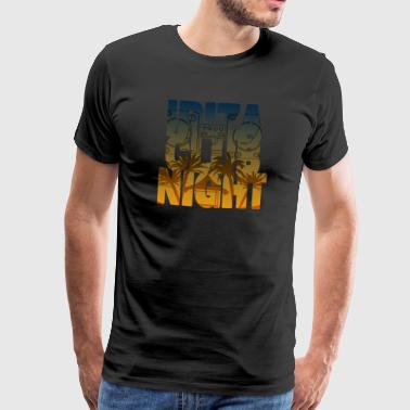 Ibiza Club Night - Premium-T-shirt herr