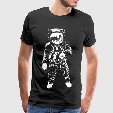 Astronaut Space Gift Space Alien - Men's Premium T-Shirt