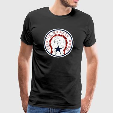 Life Is Really Good Baseball - Männer Premium T-Shirt