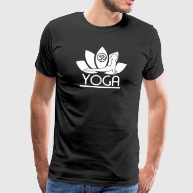 Yoga Lotus - Men's Premium T-Shirt