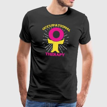 Therapy Therapist Occupational Therapy OT Therapist - Men's Premium T-Shirt