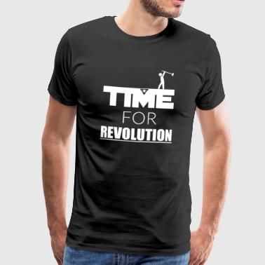 Time for Revolution - Männer Premium T-Shirt