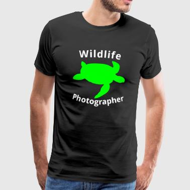 Wildlife Photographer Turtle - Turtle - Men's Premium T-Shirt