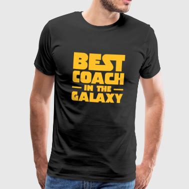 Best Coach In The Galaxy - Mannen Premium T-shirt