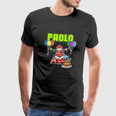 Fire Department Paolo gift - Men's Premium T-Shirt