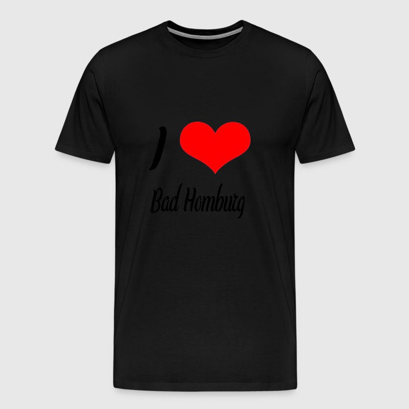 I love Bad Homburg - Männer Premium T-Shirt